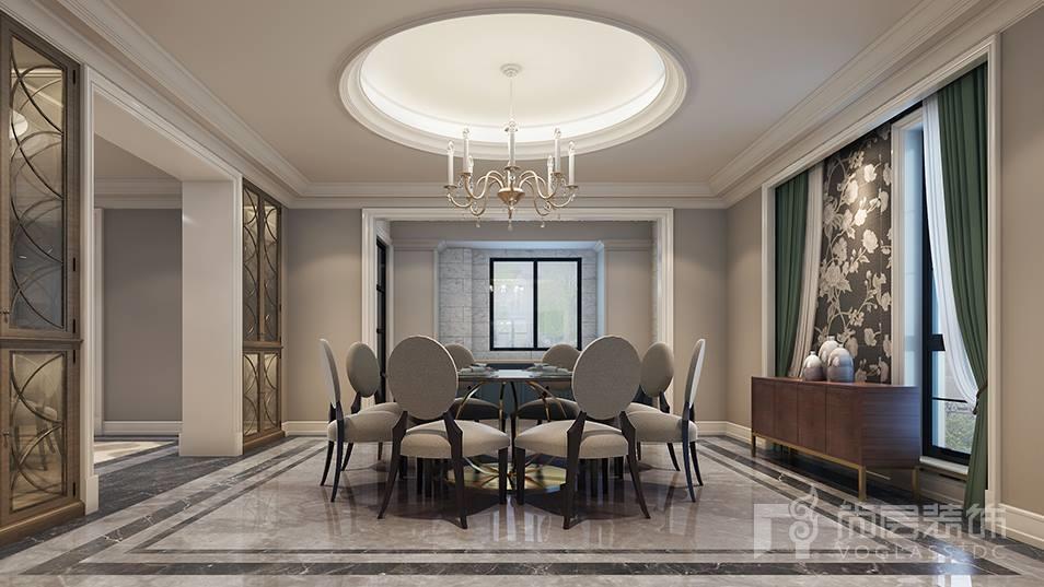 九龙仓兰宫餐厅装修设计效果图