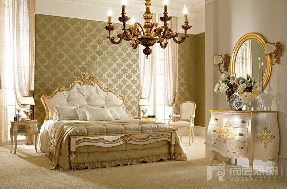 尚层装饰合作品牌Andrea fanfani奢华卧室
