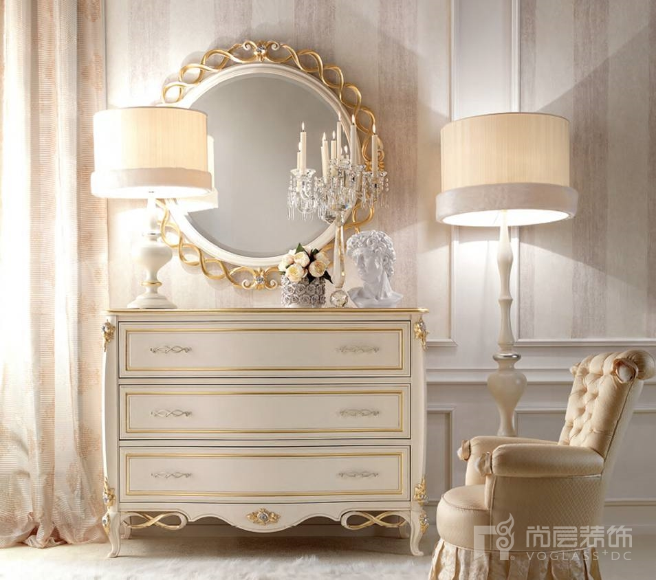 尚层装饰合作品牌Signorini & Coco FOREVER系列装饰柜