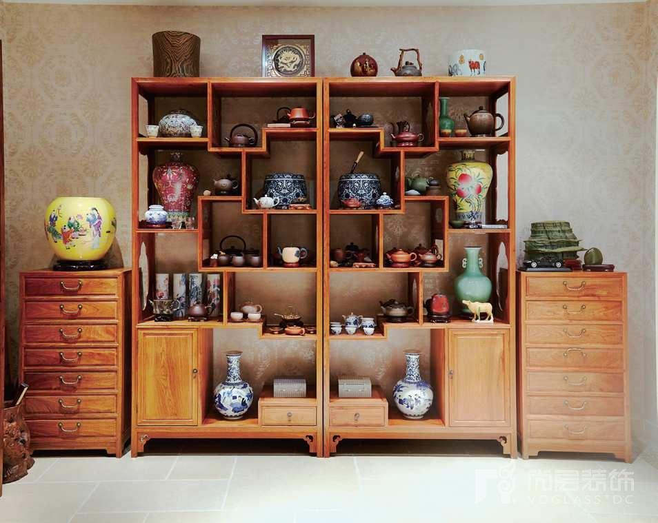 西山林语别墅装修业主的收藏品