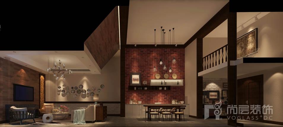 保集花园洋房家庭室设计效果图