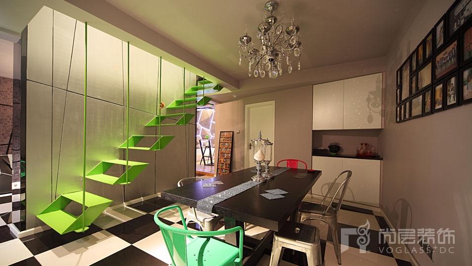 loft风格餐厅设计实景展示