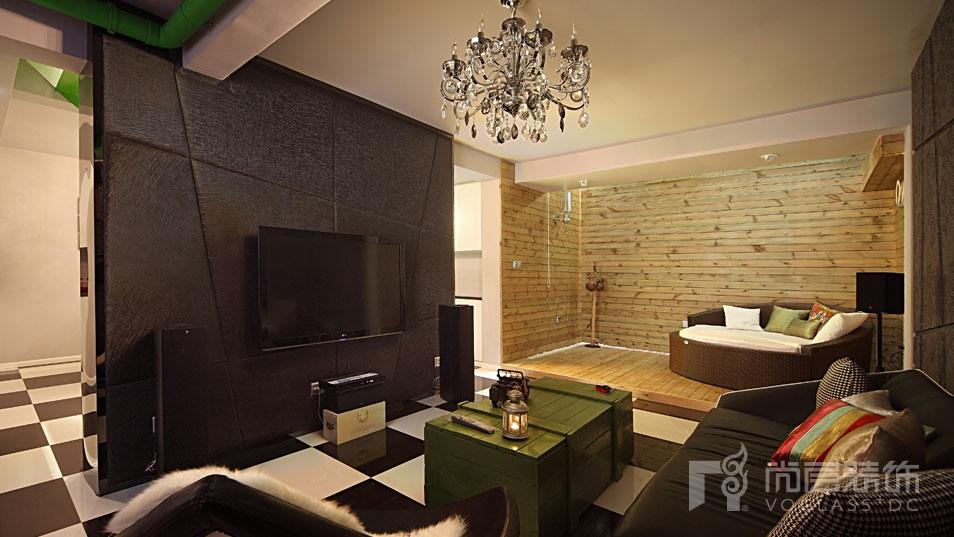 loft客厅设计实景展示