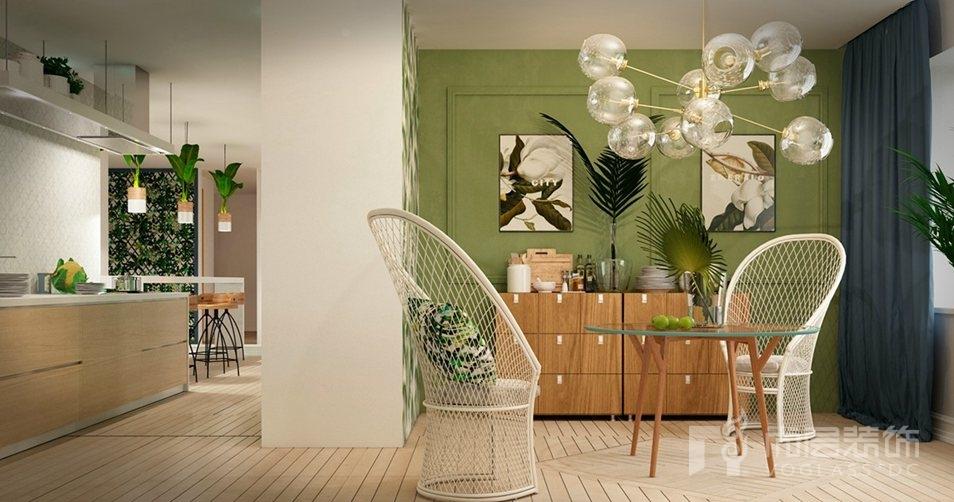 陈设强化别墅设计空间的风格