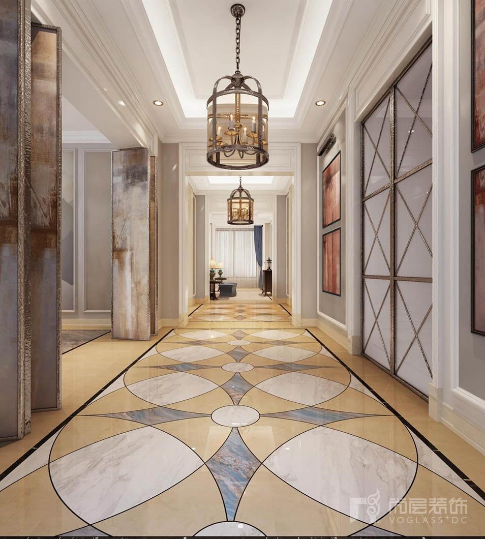 华润中央公园门厅装修设计效果图