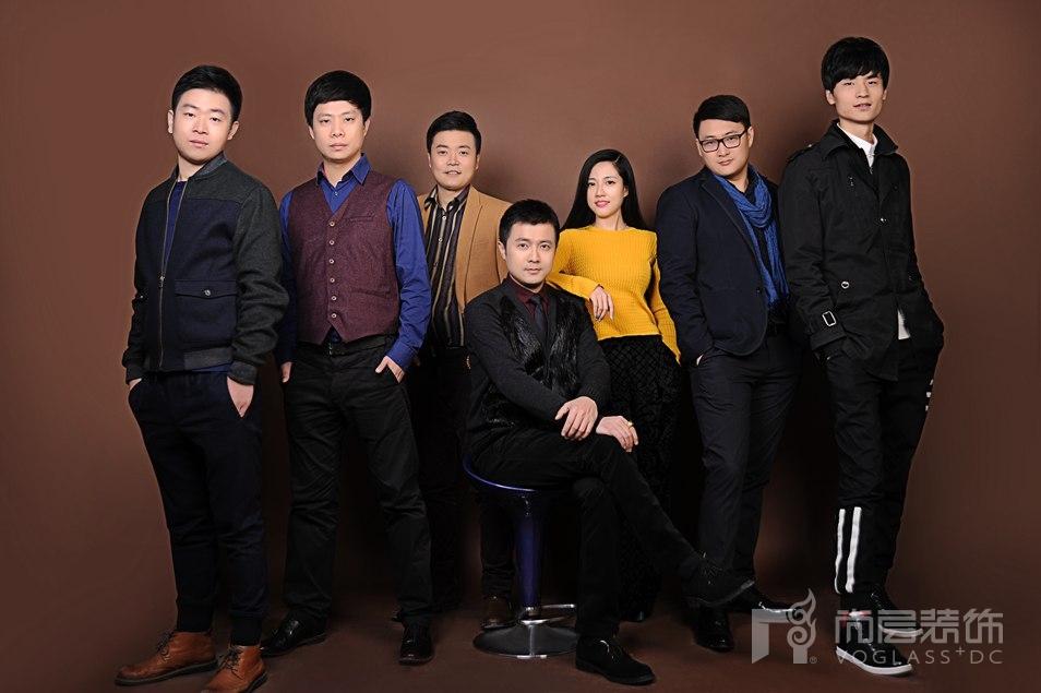 尚层装饰桂涛老师和他的设计团队