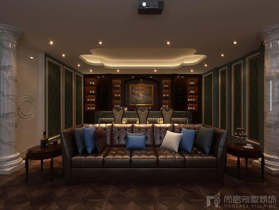 中海紫御豪庭收藏室设计效果图