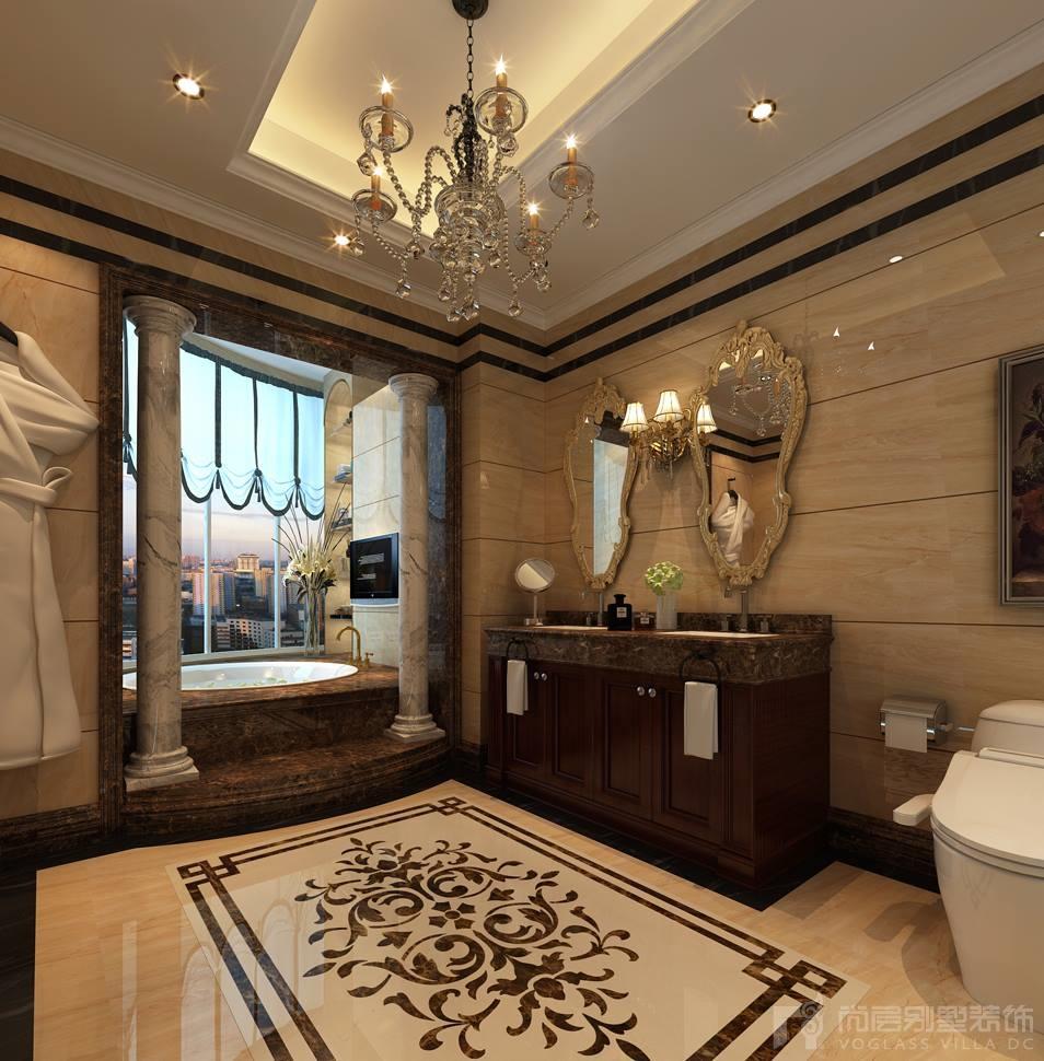中海紫御豪庭卫生间设计效果图