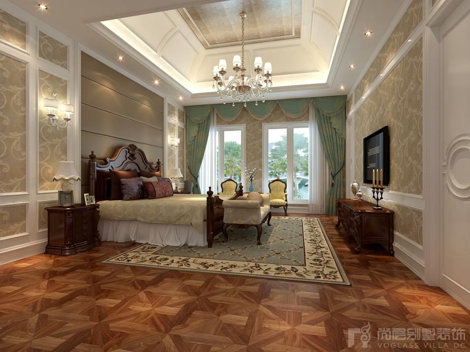 中海紫御豪庭主卧室设计效果图