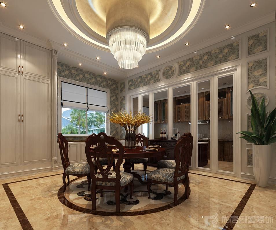 中海紫御豪庭餐厅设计效果图