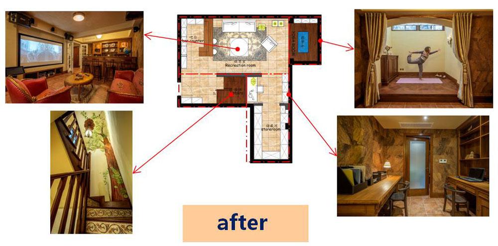 地下室完工后照片