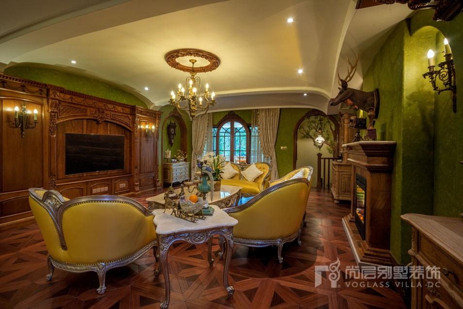 夏宫客厅装修实景图