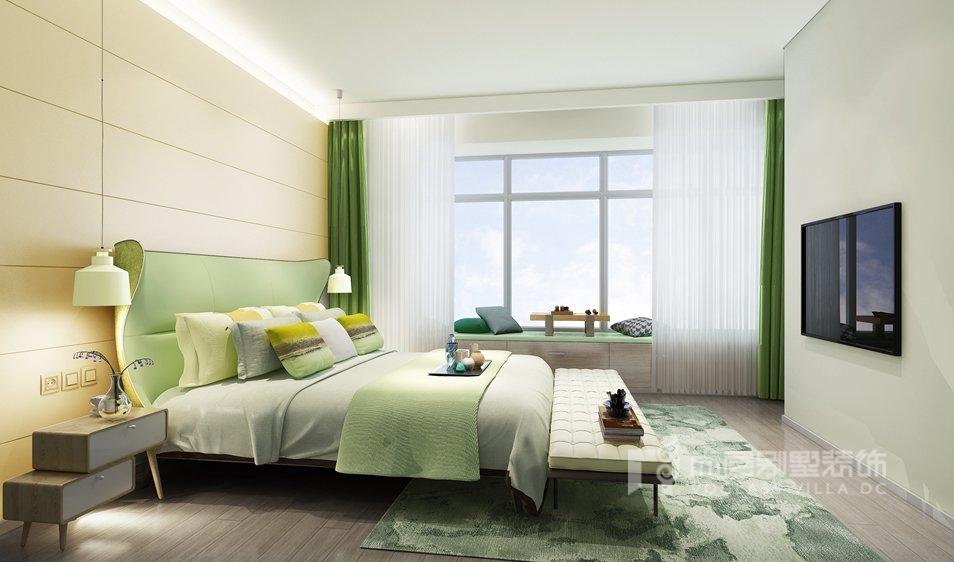 别墅装修设计卧室效果图