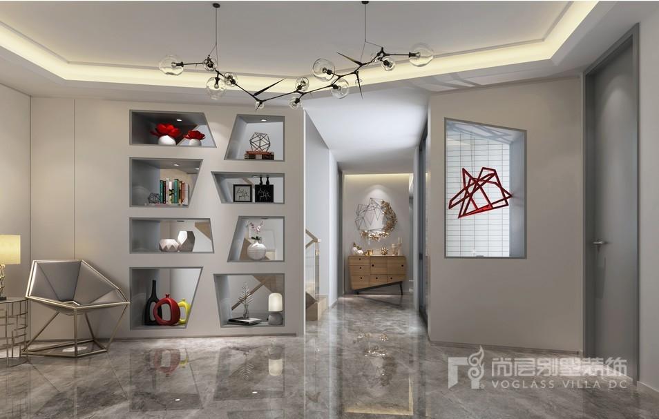 现代风格门厅装修设计效果图