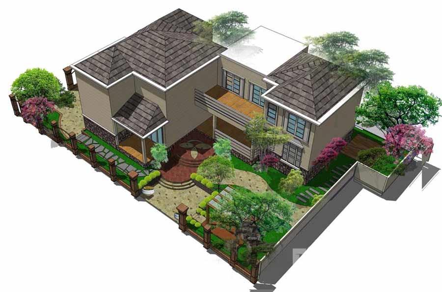 农村盖房平面图设计大全
