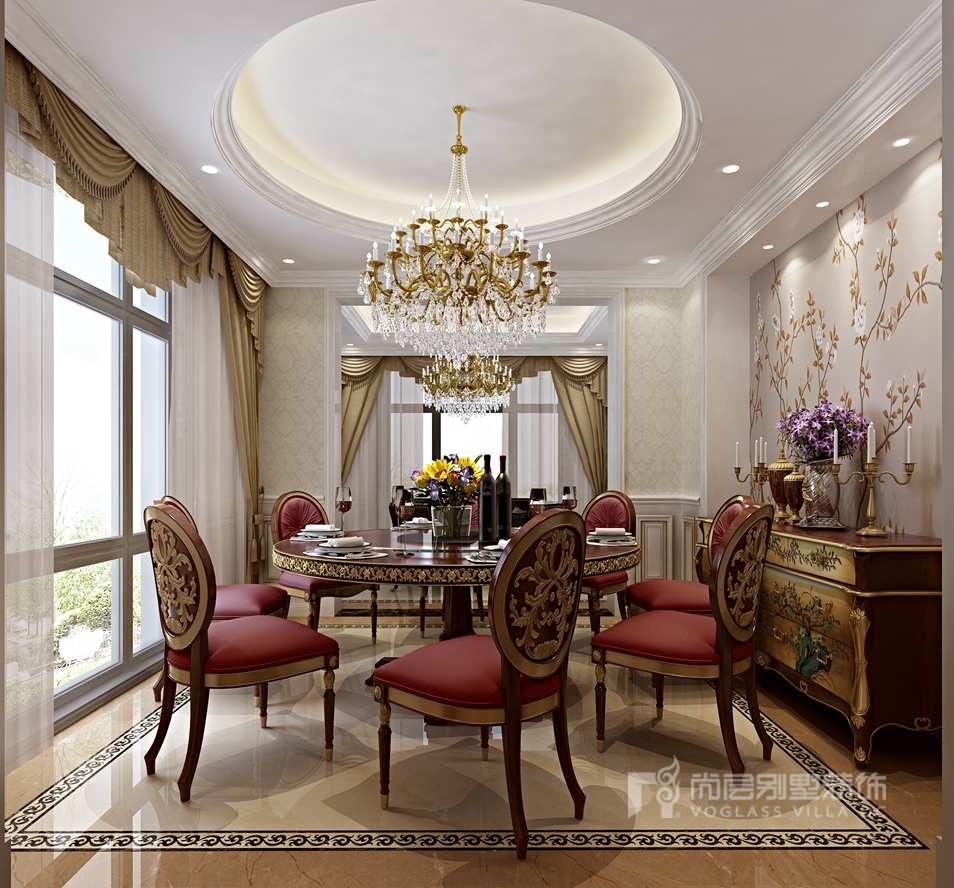 亚运新新家园别墅欧式餐厅装修效果图