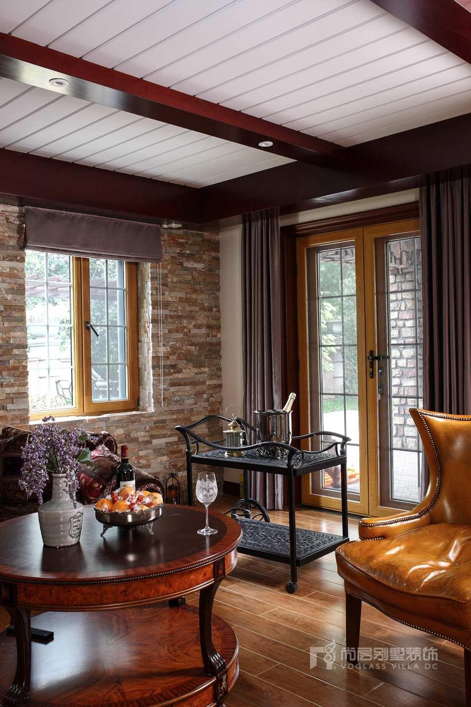 美式风格别墅装修案例实景图