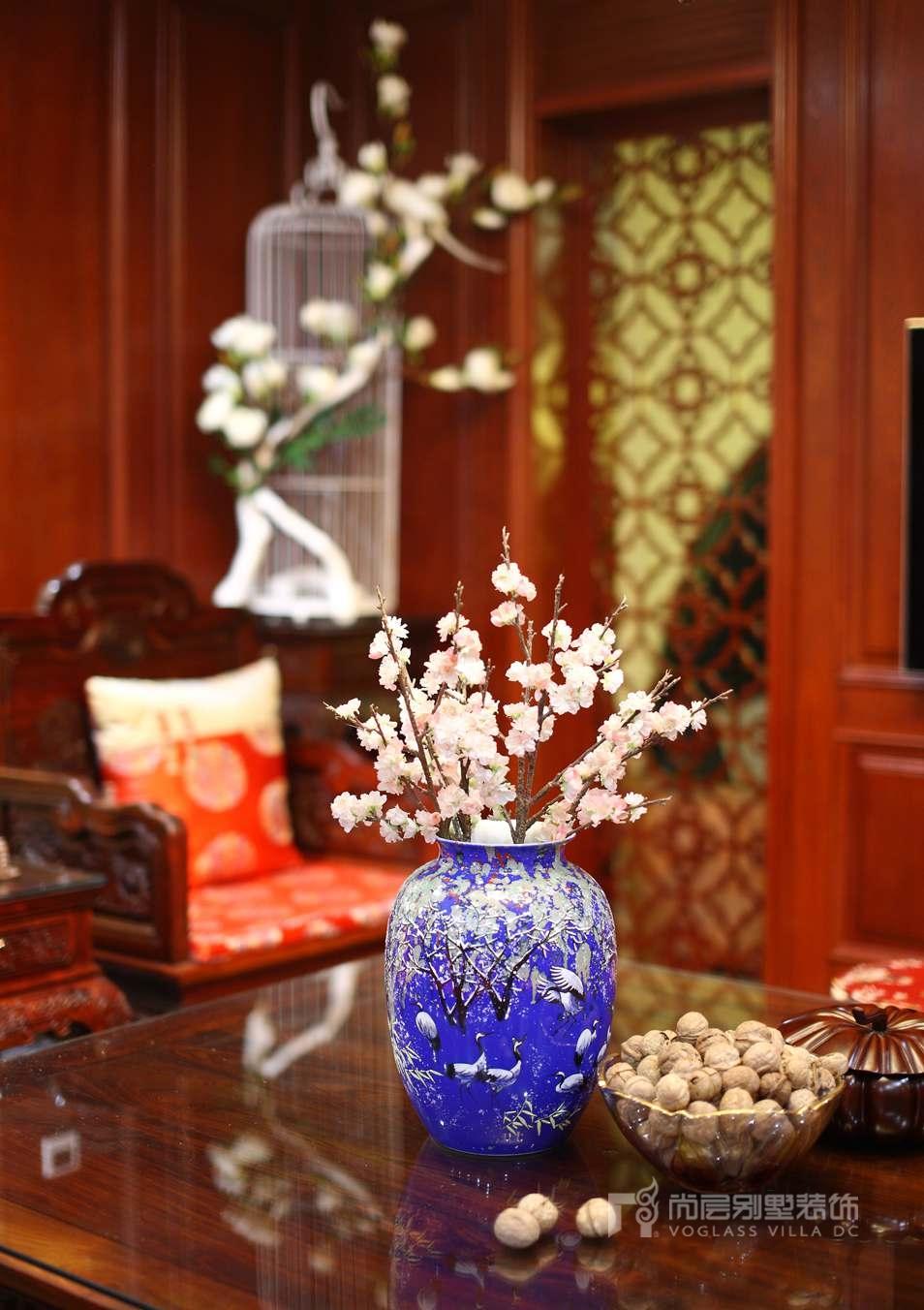 尚层室内软装配饰-起居室实景图