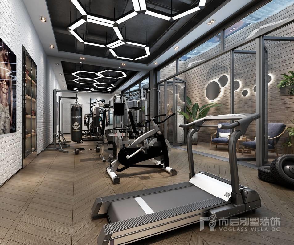 东郊罗兰健身房装修设计效果图