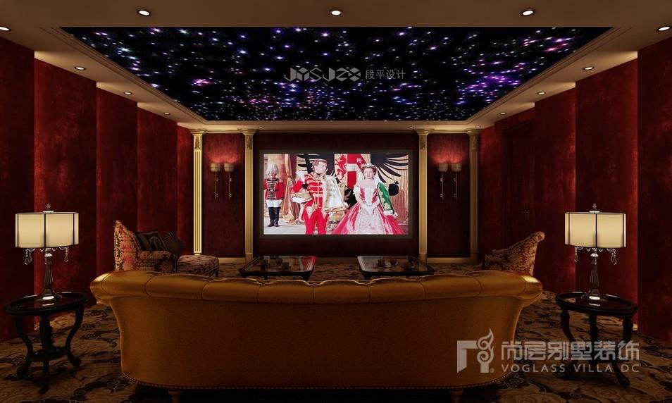 绿城玉园别墅影视厅装修效果图