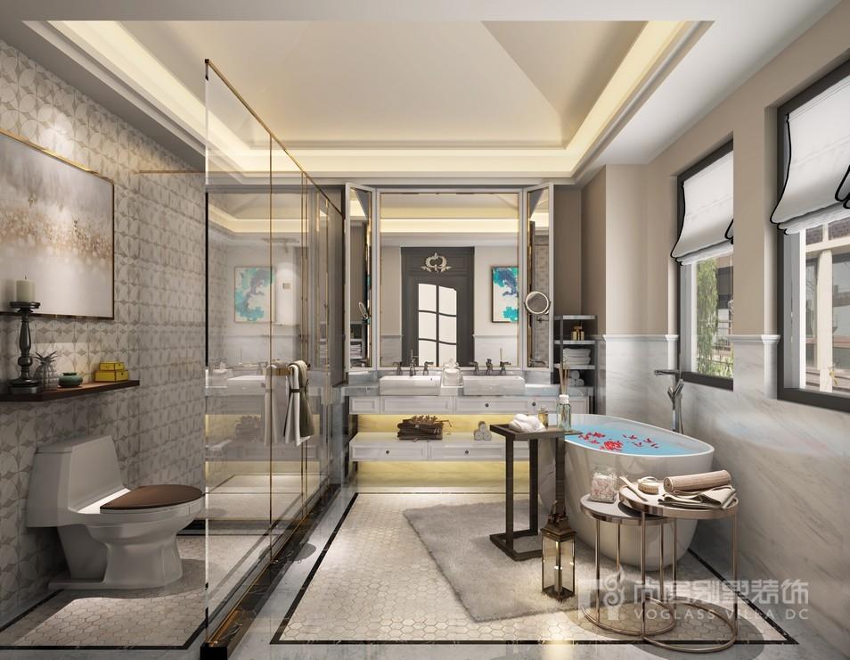 阳光城花满墅卫浴间装修设计效果图
