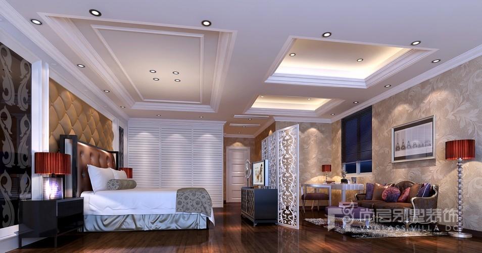 御佳园三层卧室装修设计效果图