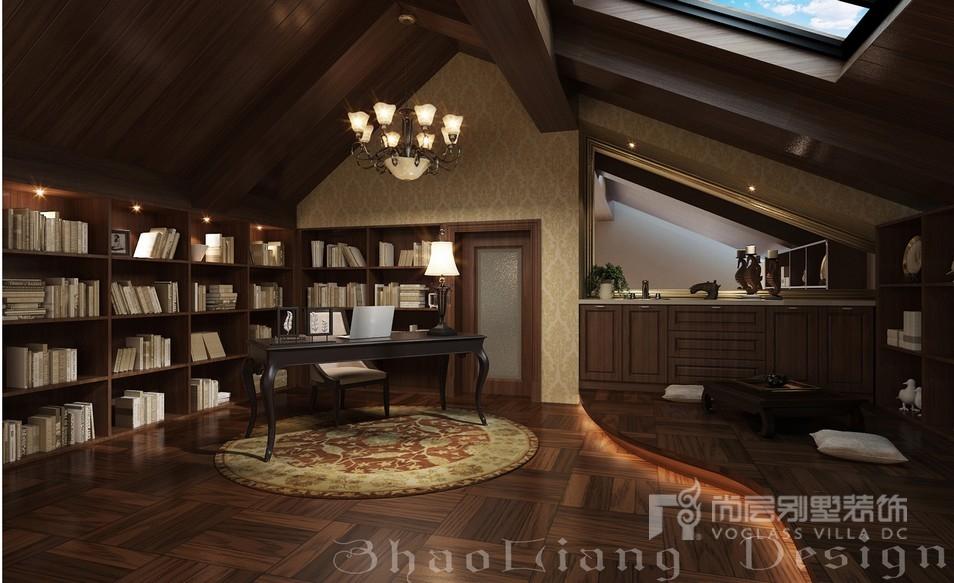 新古典风格别墅阁楼设计效果图
