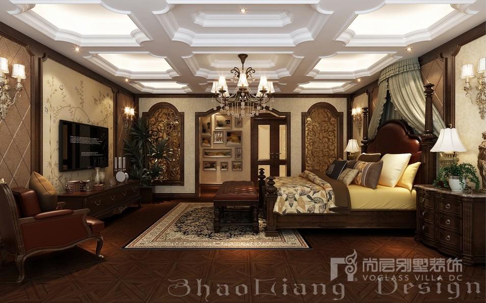 欧式风格主卧室装修设计效果图