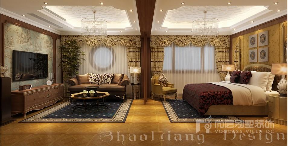 欧式风格别墅卧室儿子房装修设计效果图