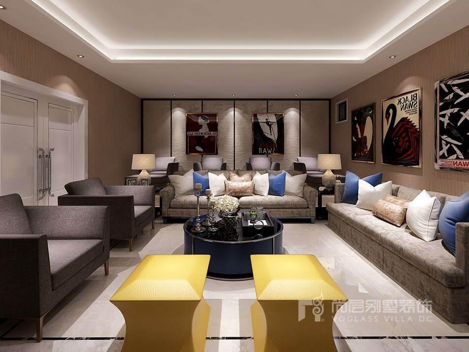 300平米現代風格別墅裝修效果圖
