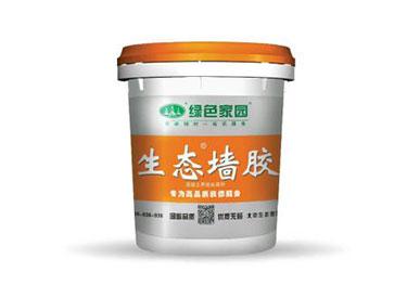 上海尚层别墅装饰-绿色家园生态墙胶