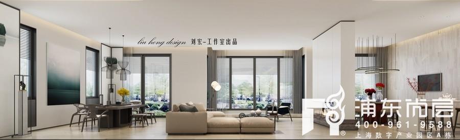 刘宏老师现代简约风格作品效果图