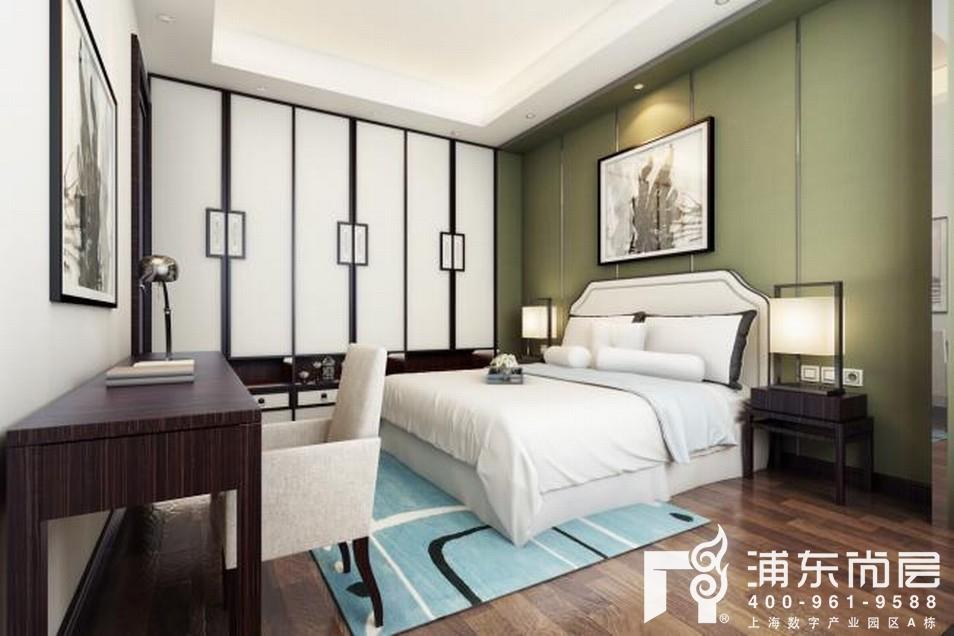 尚东鼎新中式风格父母房装修效果图
