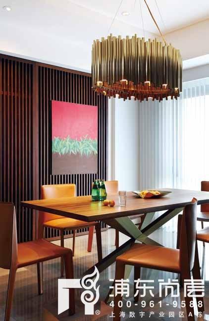别墅装修设计餐厅完工实景图