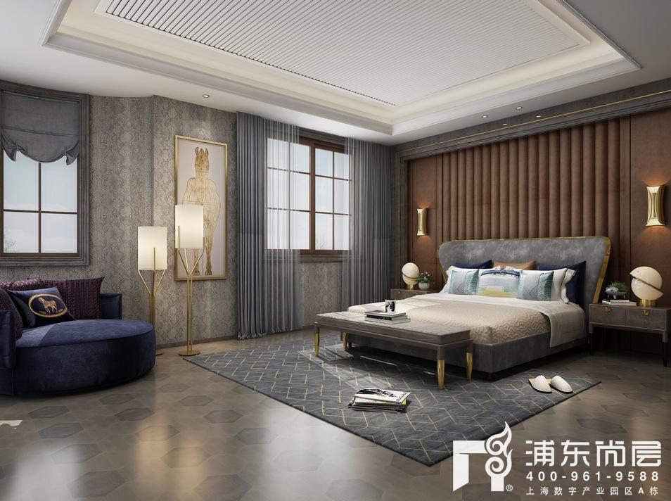 中建大公馆900㎡别墅装修效果图,现代轻奢的生活美学
