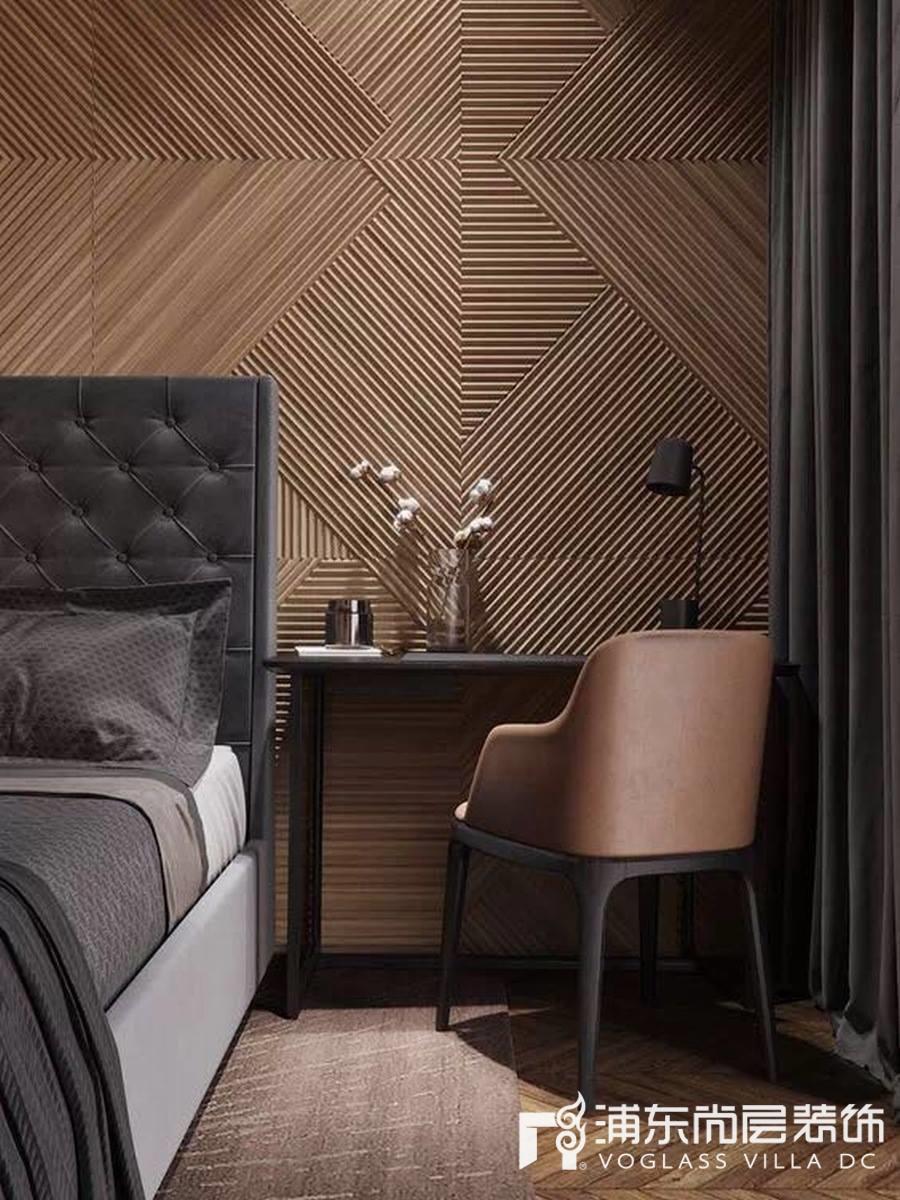 高颜值护墙板装修效果图合集赏析,有颜有实力        现代风格的护墙