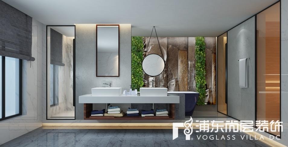 景源名墅卫生间装修设计效果图