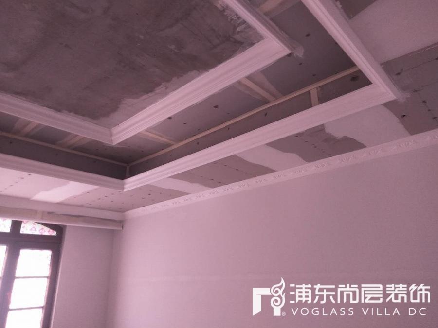 中建大公馆木工施工阶段
