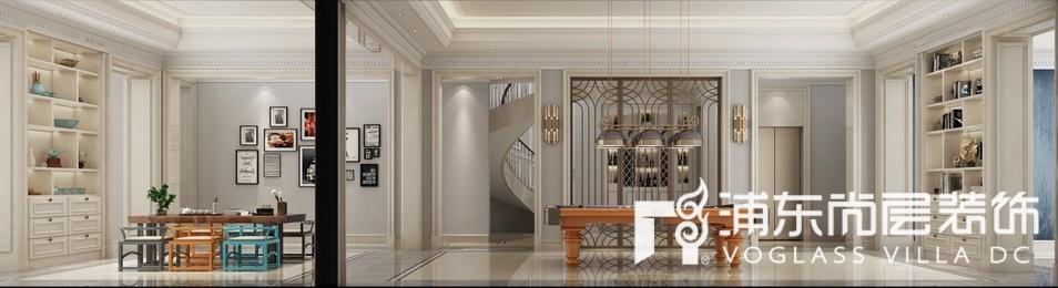 东郊罗兰法式风格别墅地下室装修效果图