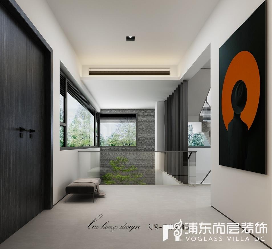 上海泷湾苑别墅门厅装修效果图
