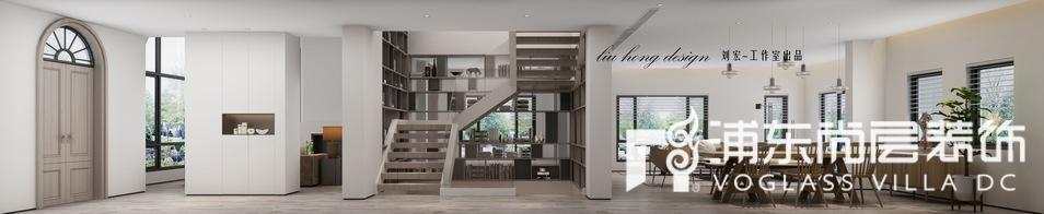 长泰西郊别墅现代简约风格门厅装修效果图
