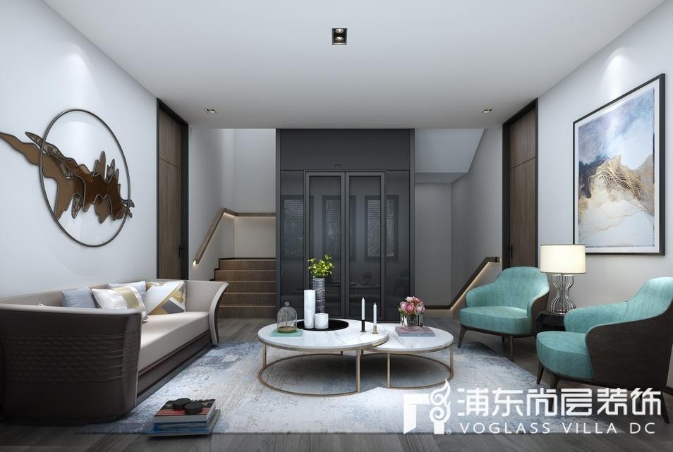 中骏天誉别墅地下室装修设计效果图