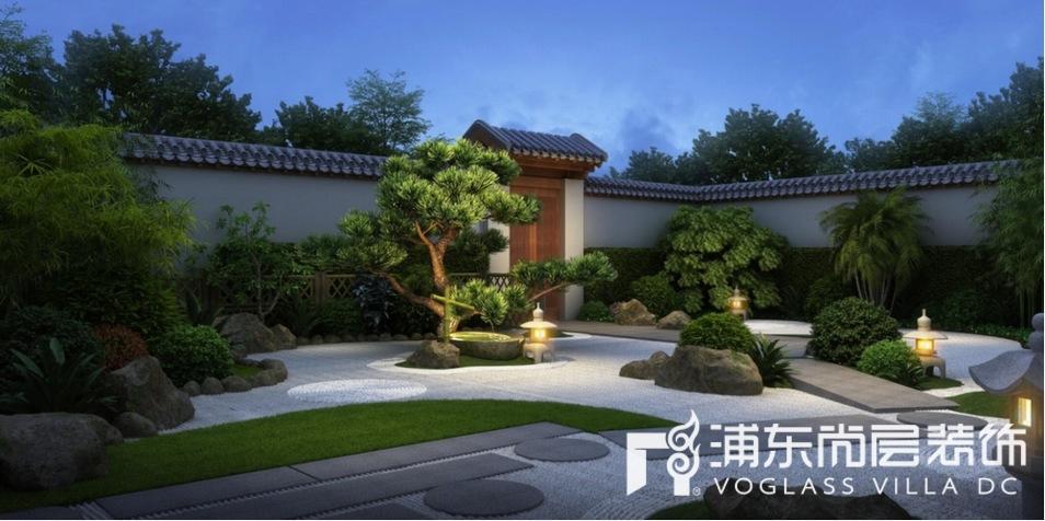 中骏天誉别墅庭院装修设计效果图