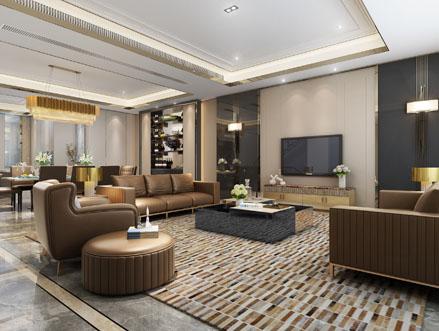 上海别墅装修设计案例效果图