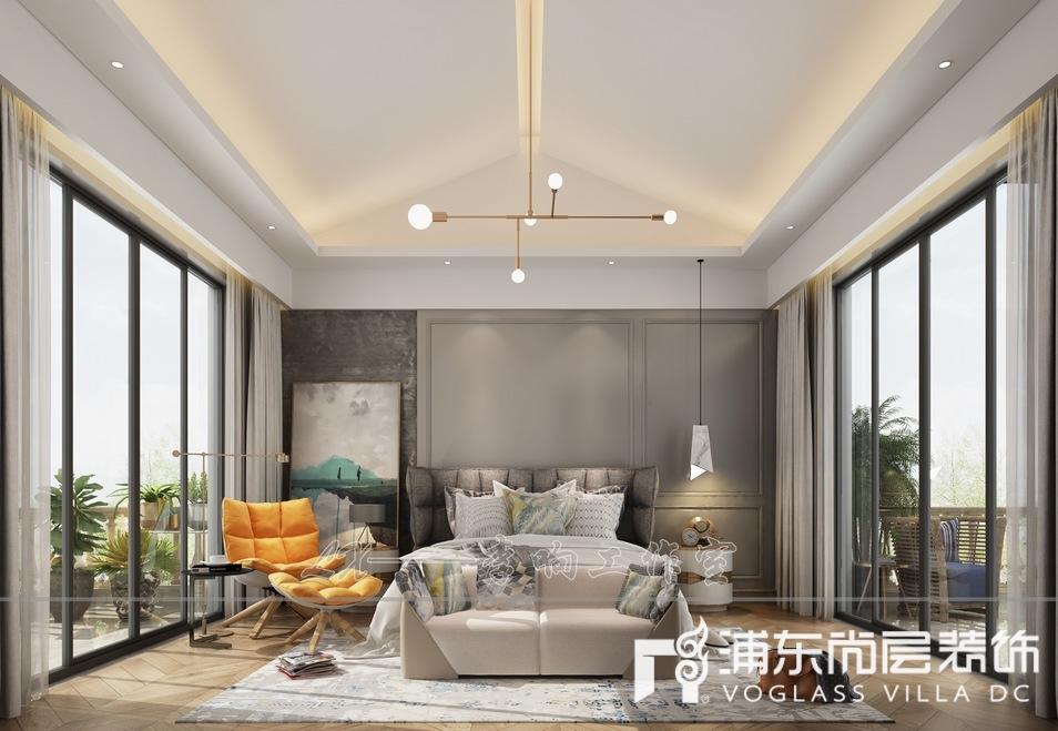 扬州别墅888㎡装修设计案例,演绎轻奢生活