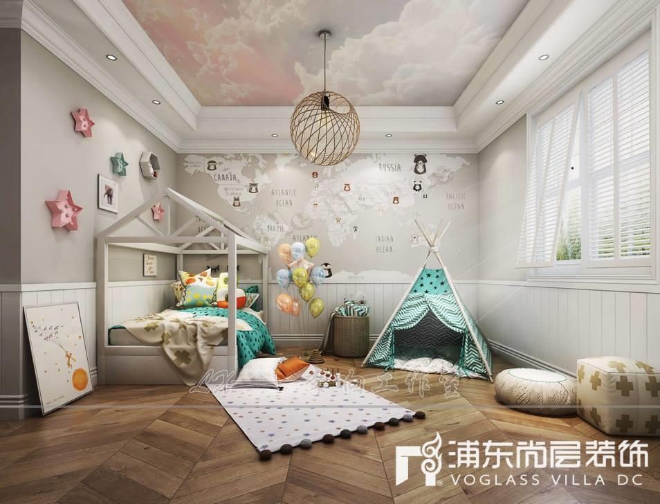 扬州别墅儿童房装修设计效果图