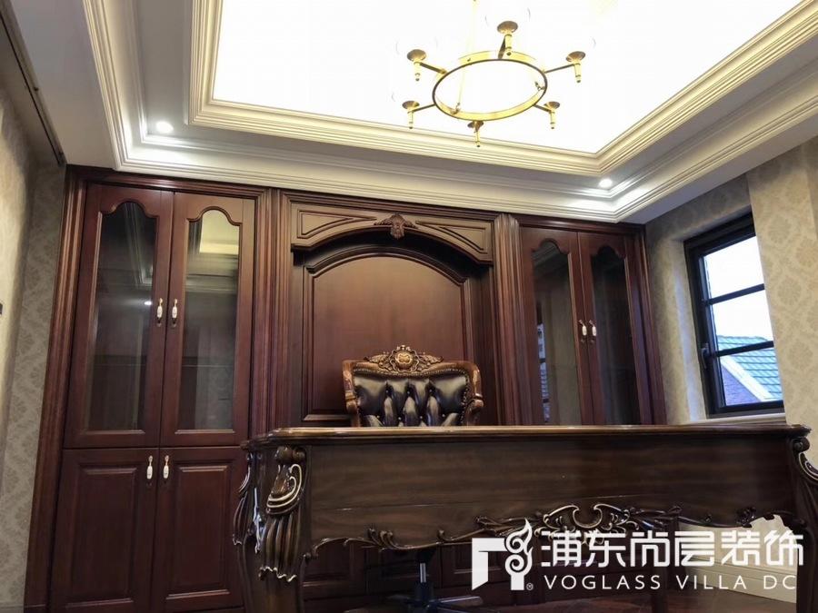 中金海棠湾书房装修实景图
