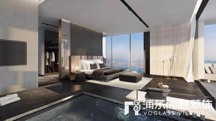经典别墅设计案例,国外豪宅之高级灰装修
