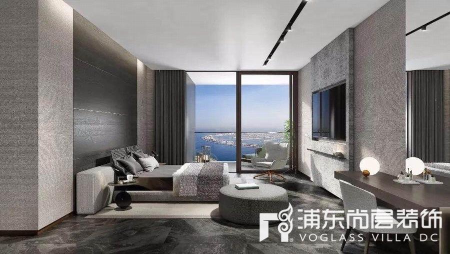 经典别墅设计案例,国外豪宅之高级灰装修 — 上海尚层