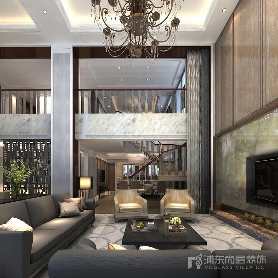 淮海名邸客厅装修设计效果图